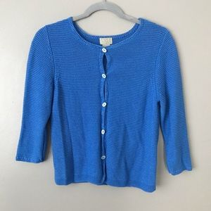 Sigrid Olsen Sport Button up knit sweater cardigan